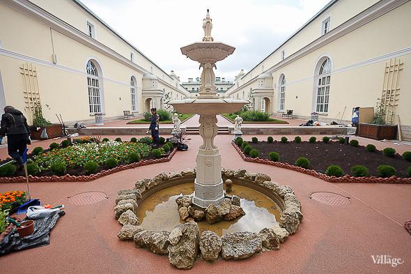 Фоторепортаж: Висячий сад Эрмитажа после реставрации. Изображение № 24.