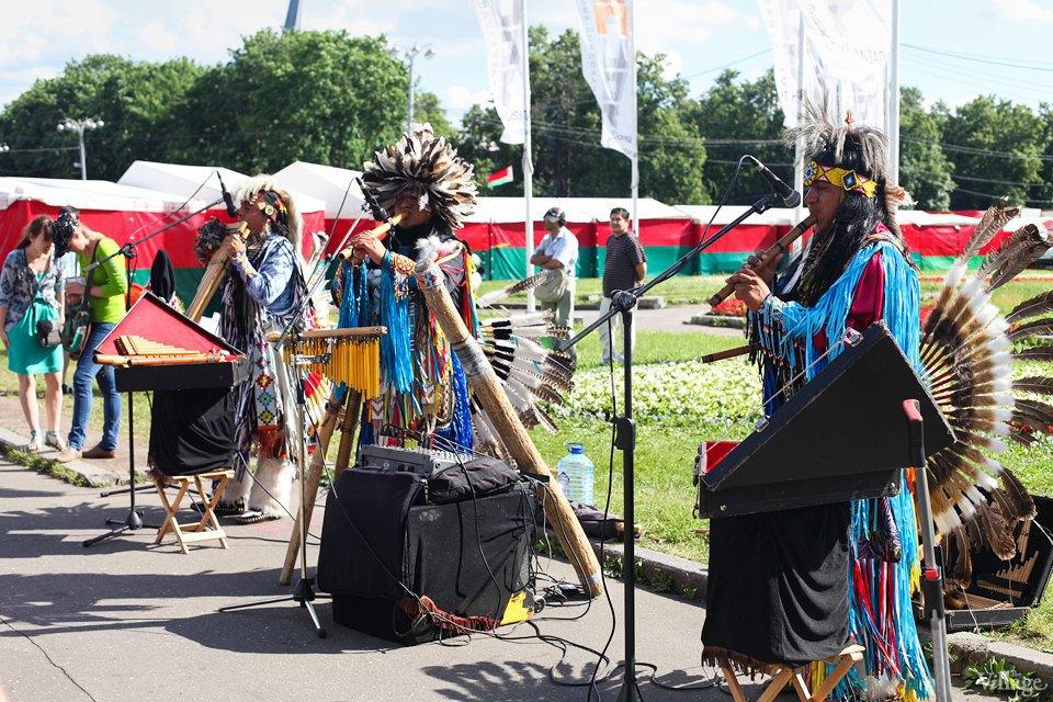 Гости столицы: Как вМоскве оказались индейские музыканты. Изображение № 5.