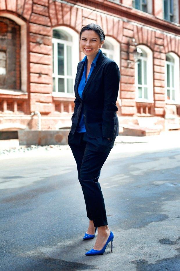 Наталья Синдеева, генеральный директор телеканала «Дождь». Изображение № 1.