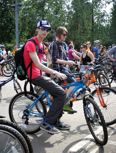 Велопарад Let's bike it!: Чего не хватает велосипедистам в городе. Изображение № 34.