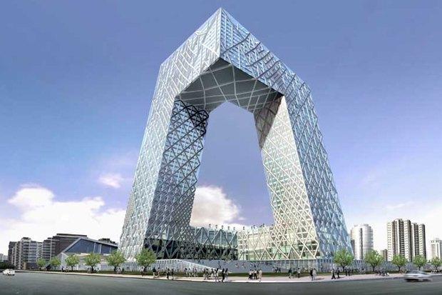 Здание Центрального китайского телевидения в Пекине, 2008. Изображение № 8.