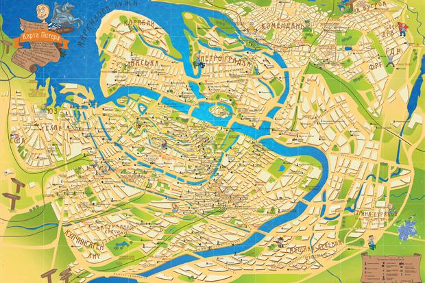 У Петербурга появилась неформальная карта. Изображение № 1.