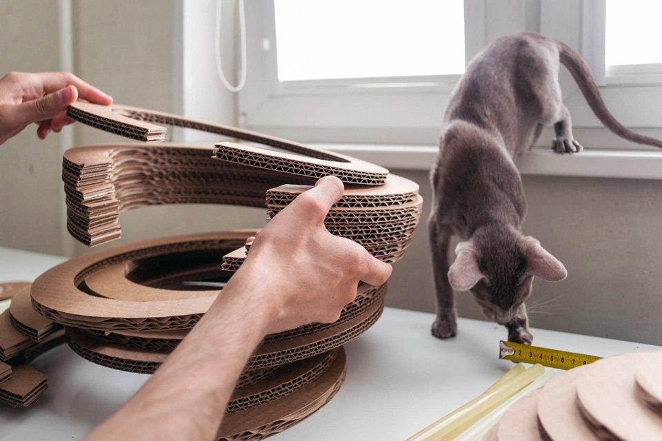 Как заработать на картонных домиках для кошек. Изображение № 4.
