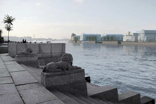 Суд идёт: четыре проекта квартала на месте «Набережной Европы». Изображение № 23.
