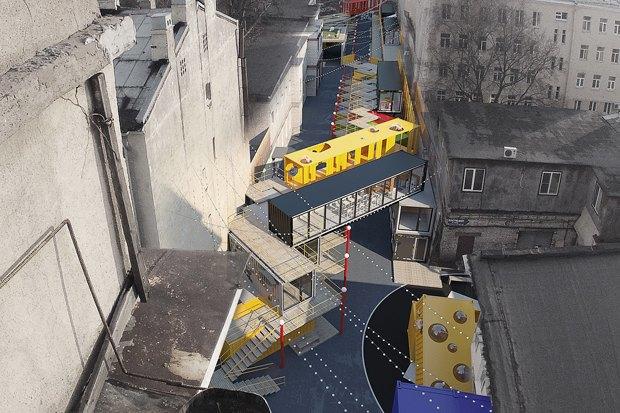 Горизонтальный проект: Коммерческий директор «Лофт Проекта Этажи» — про бизнес-центр изконтейнеров. Изображение № 4.