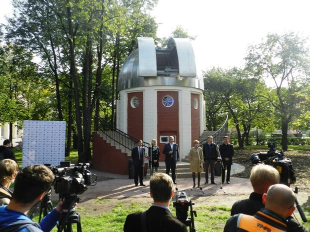 В парке Горького открылась обсерватория. Изображение № 2.