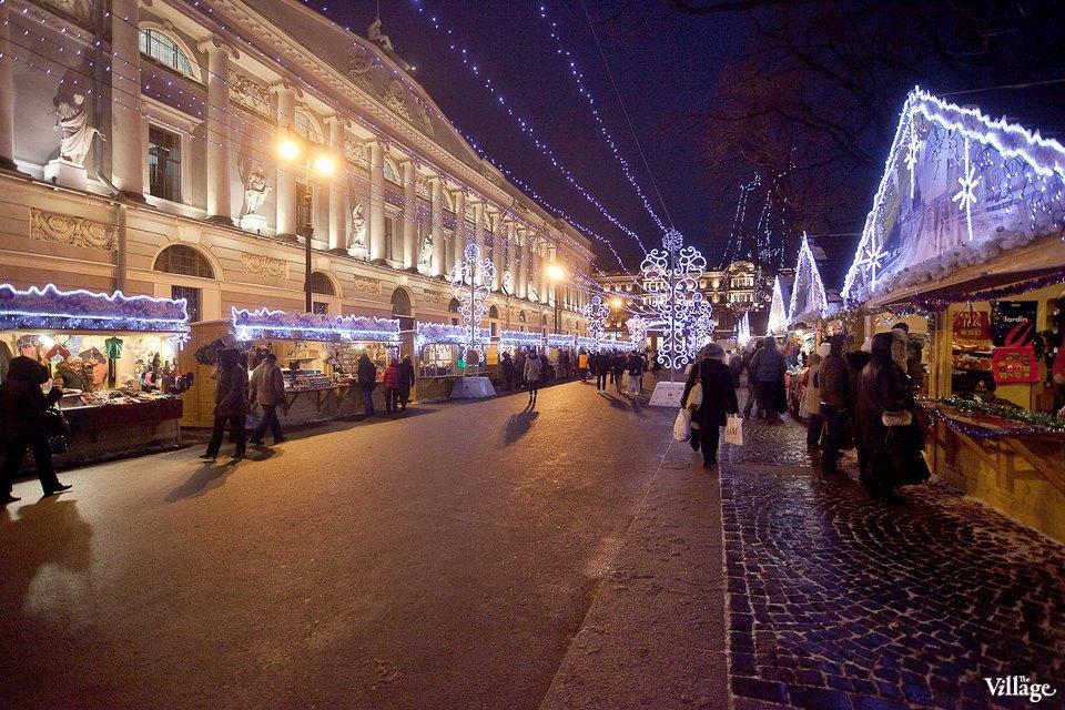Люди в городе: Продавцы рождественской ярмарки на Островского. Изображение № 31.