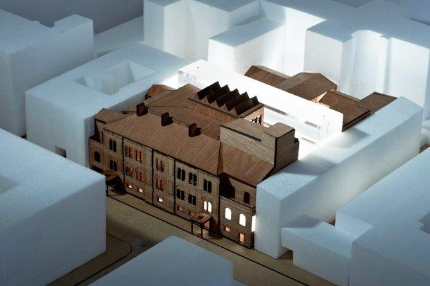 Европейский университет: 4 проекта реконструкции. Изображение № 5.