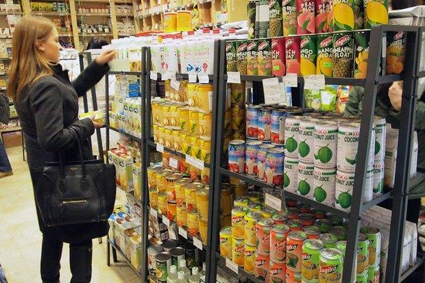 На Фонтанке открылся магазин вегетарианских продуктов «Джаганнат». Изображение № 1.