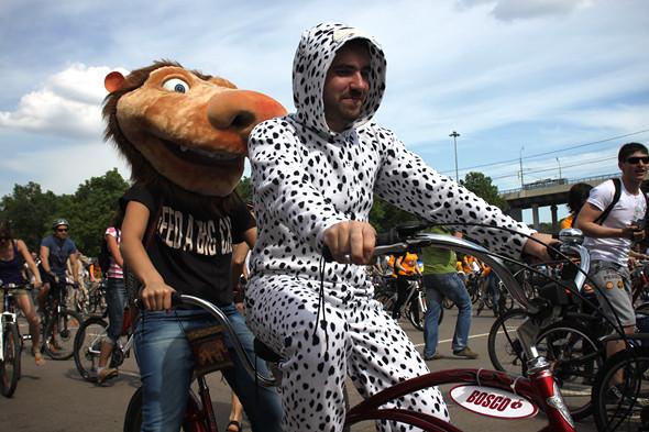 Велопарад Let's bike it!: Чего не хватает велосипедистам в городе. Изображение № 21.