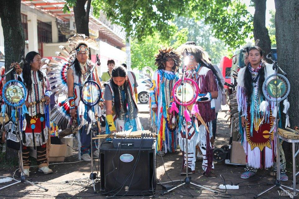 Гости столицы: Как вМоскве оказались индейские музыканты. Изображение № 2.