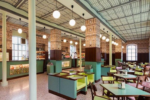 Кафе Уэса Андерсона Luce в культурном центре «Прада» в Милане . Изображение № 10.