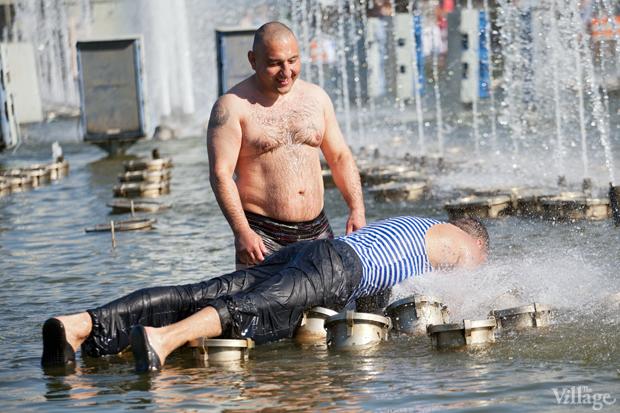Люди в городе: Как отмечали День ВДВ в парке Горького. Изображение № 9.