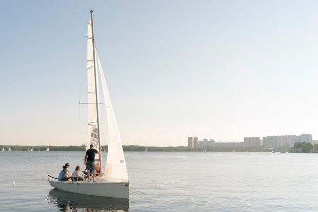 яхтинг клубы москвы