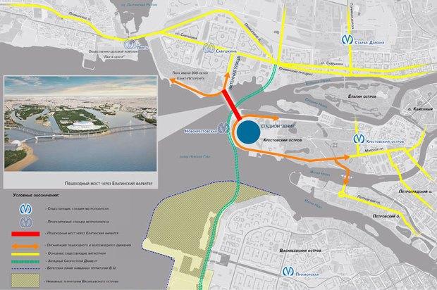 Через Неву предлагают построить двухъярусный мост с магазинами и ресторанами. Изображение № 5.