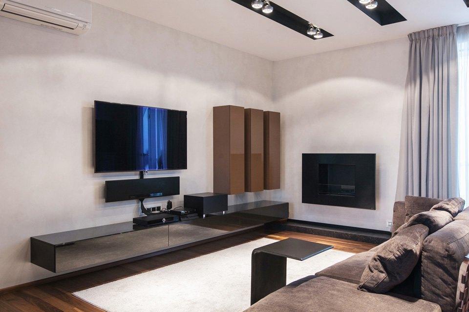 Квартира для семьи  с минималистским интерьером. Изображение № 13.