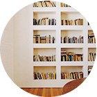 Как обустроить библиотеку вквартире. Изображение № 9.