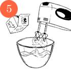 Рецепты шефов: Мороженое счаем матча, с малиной исмоцареллой и базиликом. Изображение № 13.