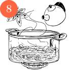 Рецепты шефов: Тёплый салат суткой, капустой, инжиром и яблоками. Изображение № 11.