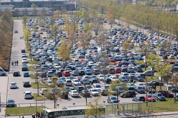 Парковки в Мюнхенском центральном аэропорту. Изображение № 6.