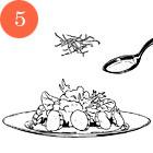 Рецепты шефов: Цитрусовый салат с гребешками. Изображение № 7.