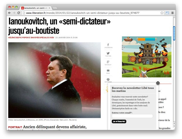 Взгляд со стороны: Западные СМИ — о событиях на Украине. Изображение № 19.