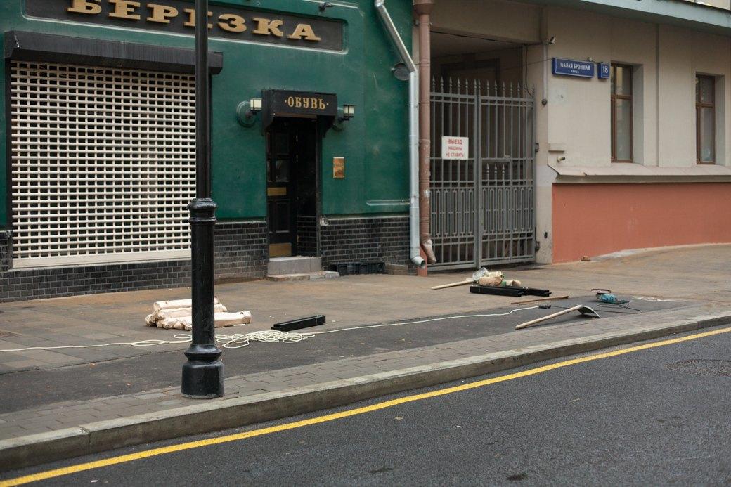 Берегись пешехода:  Большая Ордынка, Мясницкая иПатриаршие пруды после реконструкции. Изображение № 21.