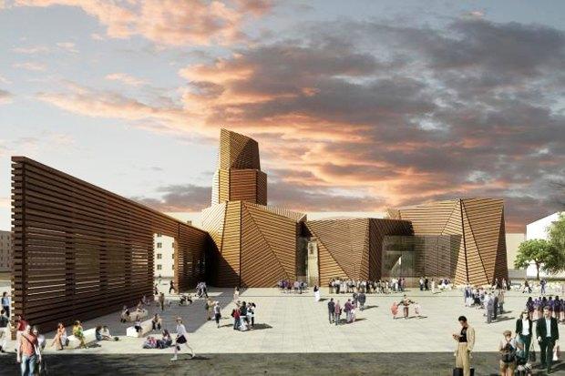 проект здания Музея казачества в Волгограде. Изображение № 12.