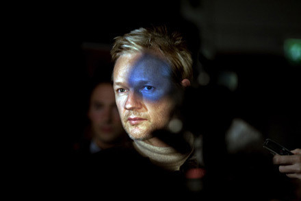 Шеймус Мерфи, Ирландия, VII Photo Agency. Джулиан Ассанж, основатель веб-сайта WikiLeaks, Лондон, 30 сентября 2010. Изображение № 1.