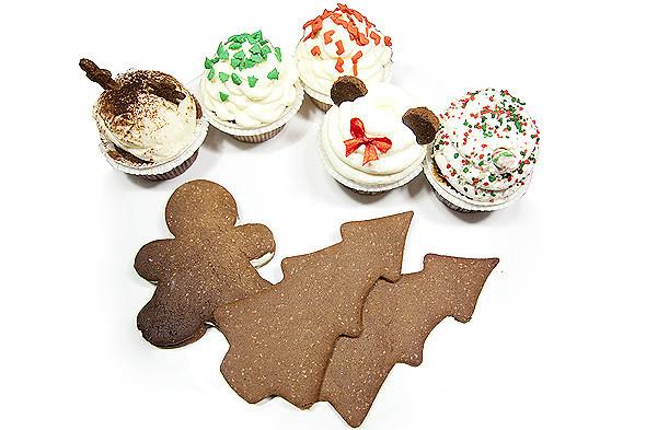 Сладкий Санта: Имбирные человечки и другие новогодние десерты навынос. Изображение № 36.