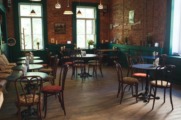 ВПушкине открылось кафе «Бакенбарды» . Изображение № 2.