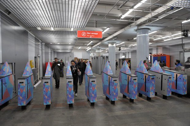 Обновлённая станция метро «Текстильщики». Изображение № 7.