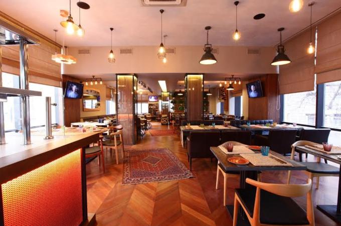 На «Маяковской» открылся ресторан грузинской кухни «Грузин». Изображение № 2.