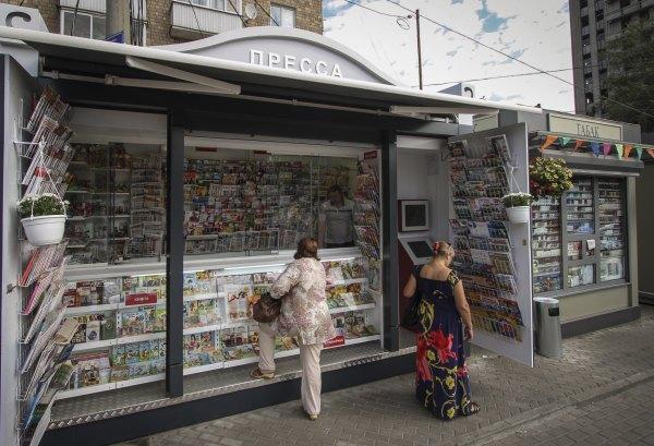 Киоски с прессой переделают по французскому образцу. Изображение № 1.