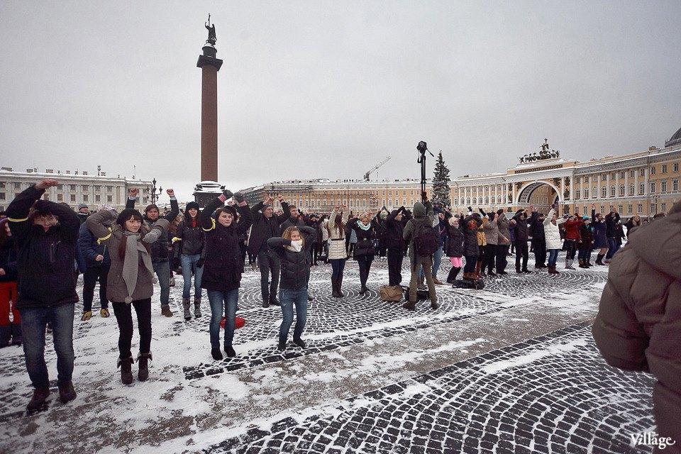 Фоторепортаж: Gangnam Style и зарядка на Дворцовой площади. Изображение № 22.