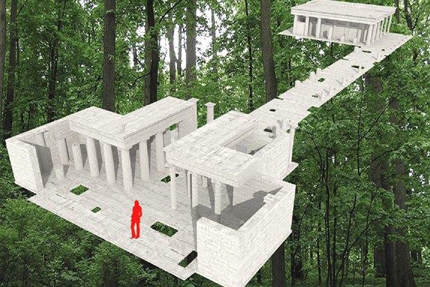 Для Измайловского парка выбирают дизайнерский туалет. Изображение № 1.