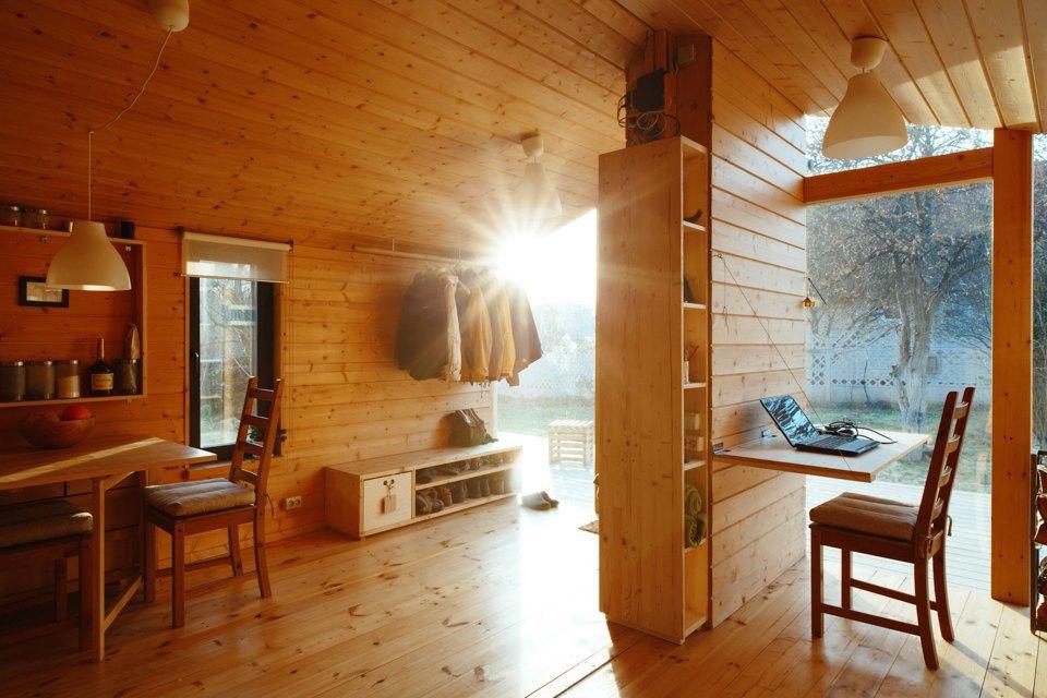 Дом-конструктор Ивана Овчинникова на 25 квадратных метрах. Изображение № 9.