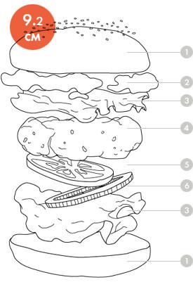 Между булок: Что внутри у самых больших московских бургеров, часть 2. Изображение № 34.