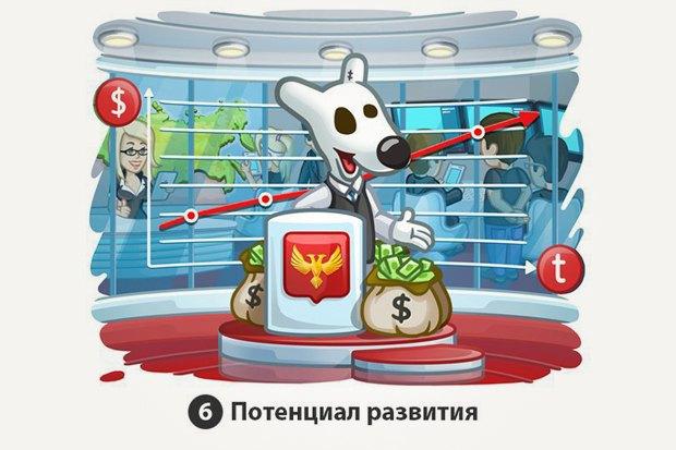 «Многие любят обращать внимание на те аспекты, которые недостаточно развиты в России. Однако все эти аспекты — возможности для создания новых проектов и компаний, невозможных в других странах».. Изображение № 6.