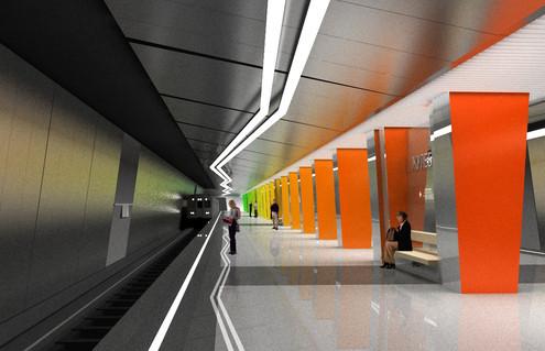 В Жулебине откроют две станции метро в 2013 году. Изображение № 6.