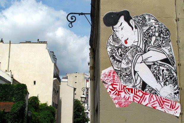 Граффити, изменившие улицы Колумбии, Франции, Турции иВенгрии. Изображение № 6.