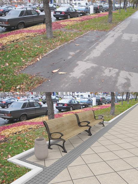 Плитку в пределах Садового кольца уложат к 2016 году. Изображение № 1.