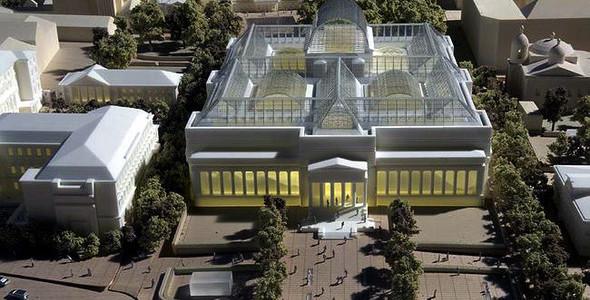 Пушкинский музей: Проект реконструкции. Изображение № 13.