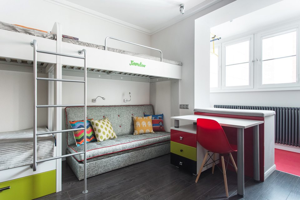 Трёхкомнатная квартира для большой семьи вВидном. Изображение № 17.