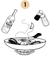 Рецепты шефов: Спагетти «Фрутти ди Маре». Изображение № 6.