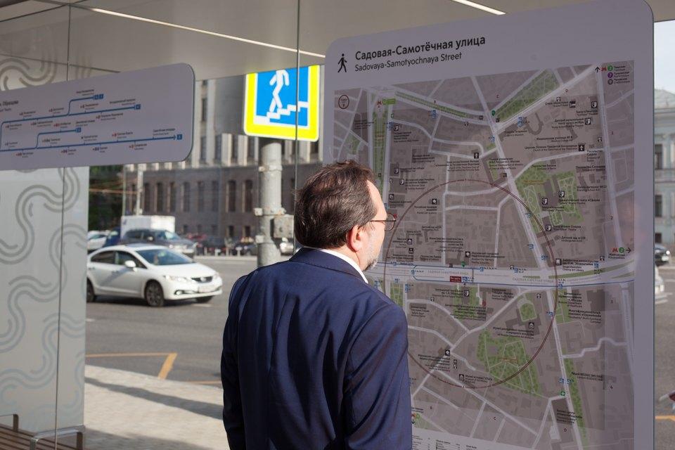 Wi-Fi, USB-порты и автомат попродаже билетов — вМоскве открыли современную остановку транспорта. Изображение № 7.