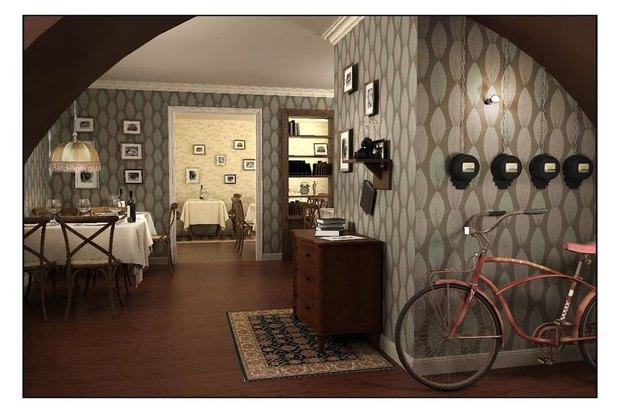 Второе кафе «Квартирка» открылось на Васильевском острове. Изображение № 1.