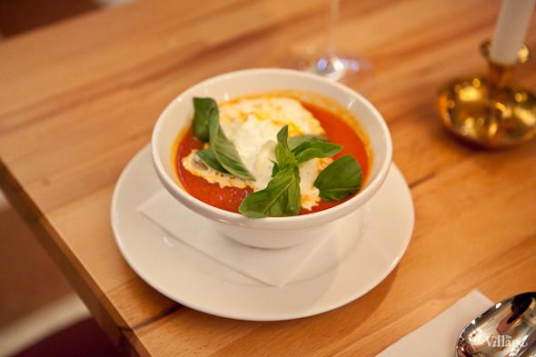 Томатный суп-пюре Crema di Pomodoro  — 280 рублей. Изображение № 27.