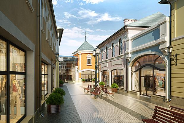 Outlet Village Белая Дача в макете. Изображение № 20.