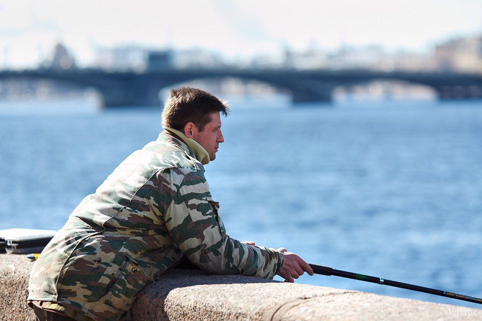 Люди в городе: Рыбаки Петербурга. Изображение № 5.
